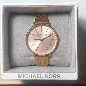 Michael Kors Rose Gold Pyper Watch